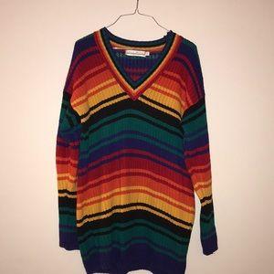 Delia McKain Rainbow Inspired Sweater